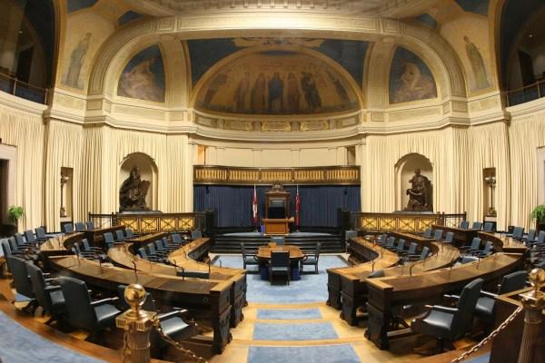 Blick ins Parlament