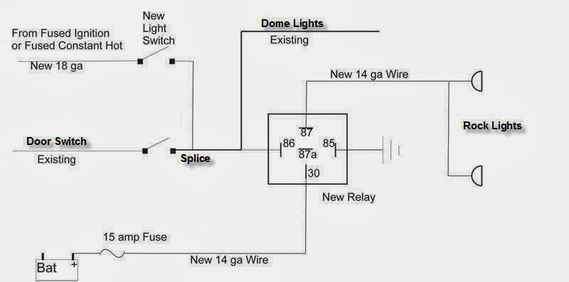 Rock Light Wiring Schematic