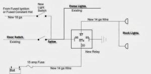 Rock light wiring schematic  Jeep Wrangler Forum