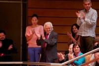 El maestro Inocente Carreño se mostró jubiloso por el concierto en homenaje a su música, con el cual cerró la novena edición del Festival de Juventudes