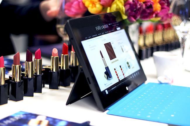 Eventing: Estée Lauder presents Pure Color Envy Lipstick (at Microsoft)