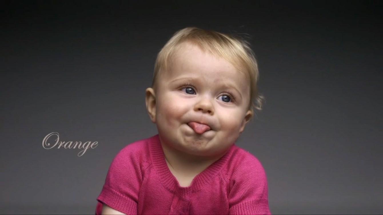 *First Taste:觀看孩子第一次品嘗不同食物的頭號表情! 4