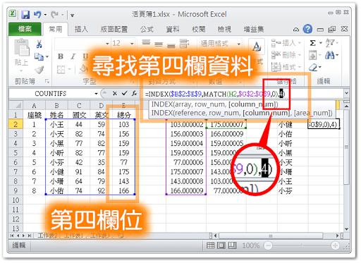 在 Excel 中自動排序資料 (上) - Meme -- 教學與反省
