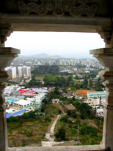 View from Baner Temple