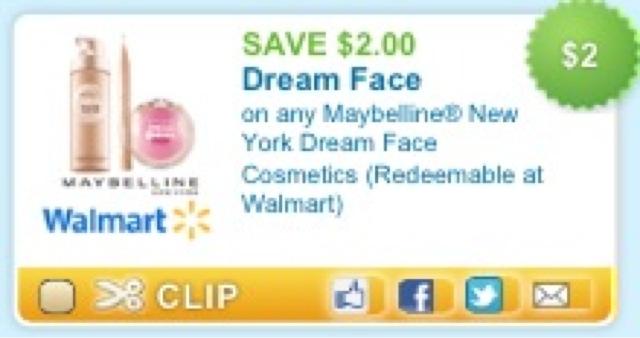 Saving Money And Loving Life: $2/1 Maybelline New York
