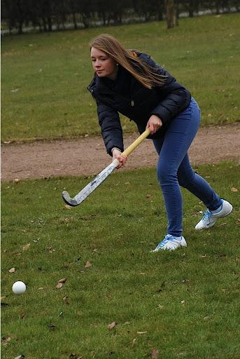 leren hockey spelen op de Zilten in Roeselare
