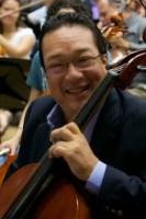 El maestro y director titular de la Orquesta Sinfónica de Chacao, Florentino Mendoza