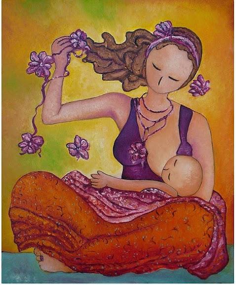 Beautiful Sitting - Gioia Albano Maternidade em obras de arte