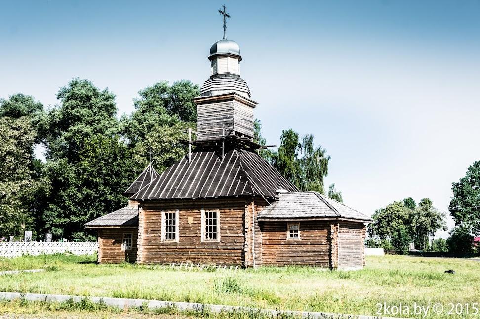 Петрыкаў. Царква Покрыва Прасвятой Багародзіцы