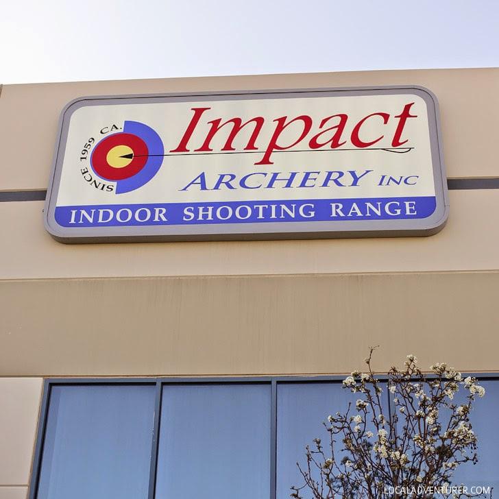 Archery Lessons Las Vegas at Impact Archery Indoor Shooting Range.