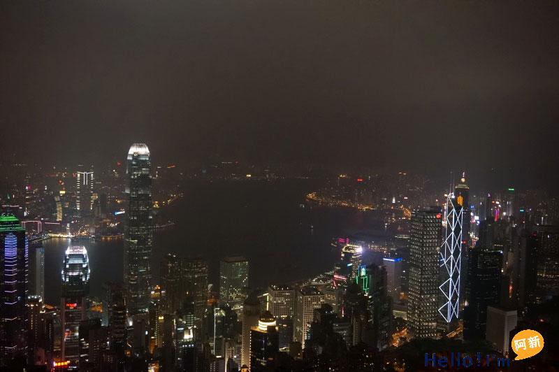 香港太平山夜景-3