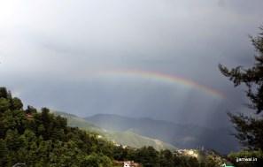 Rainbow on way to Shimla
