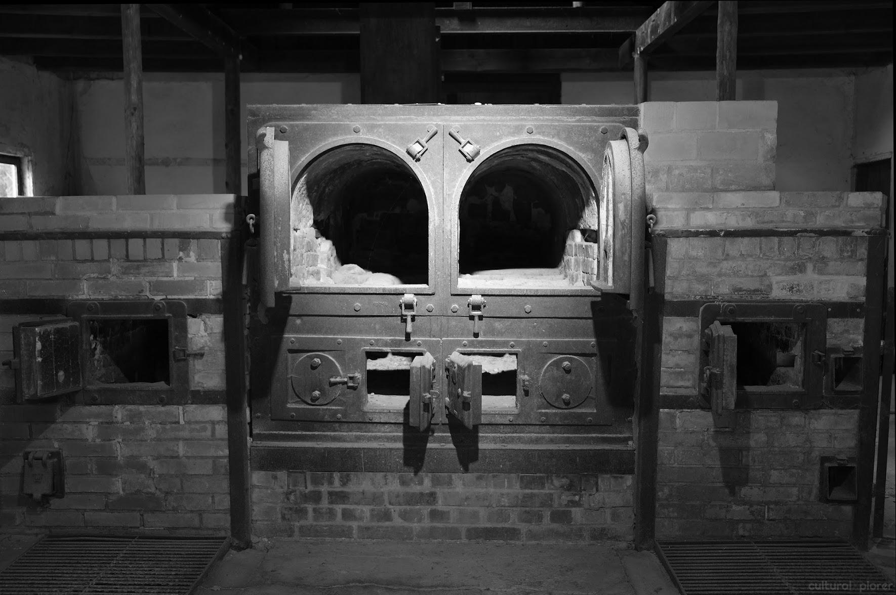 Original Dachau Crematorium