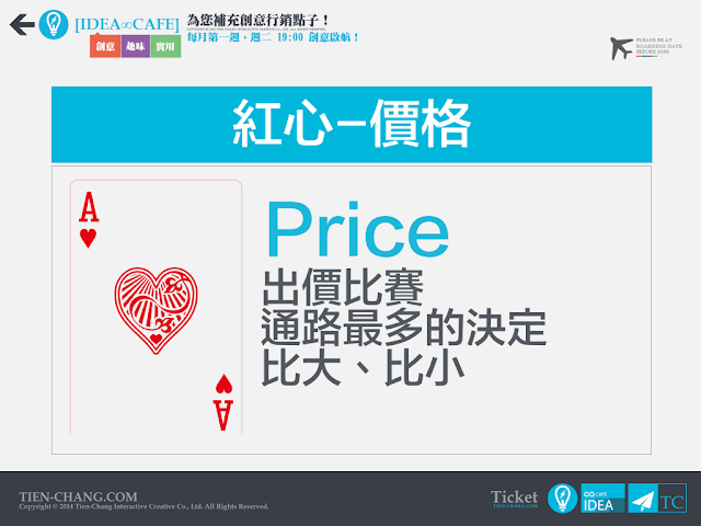 4P大富翁-Price 價格