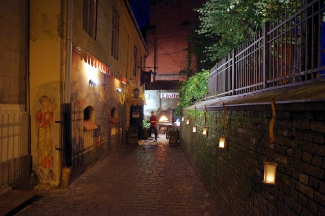 Qué ver en Riga. Riga de noche