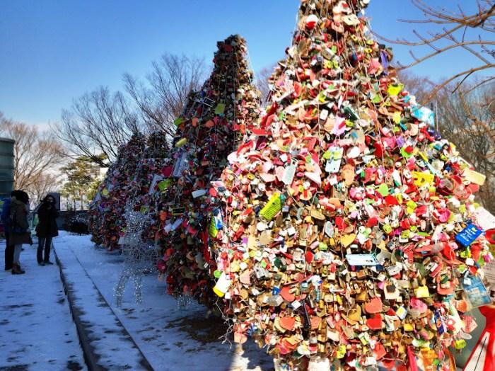 Quirky Seoul, Love of Locks at Namsan Tower