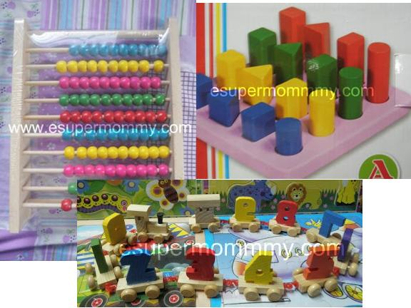 kid's education wooden toy