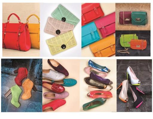 Parisian Shoes and bags Holiday Collection 2012