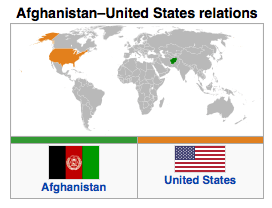 Afghanistan - US Relations