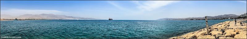 Панорама: Из Эйлата через Акабу в Эйлат