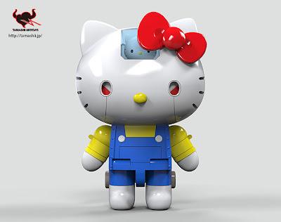 #無敵鐵金剛+凱蒂貓=?:登場吧! 超合金 Hello Kitty !! 7