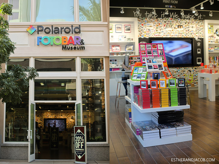 Polaroid Fotobar Las Vegas at the Linq.