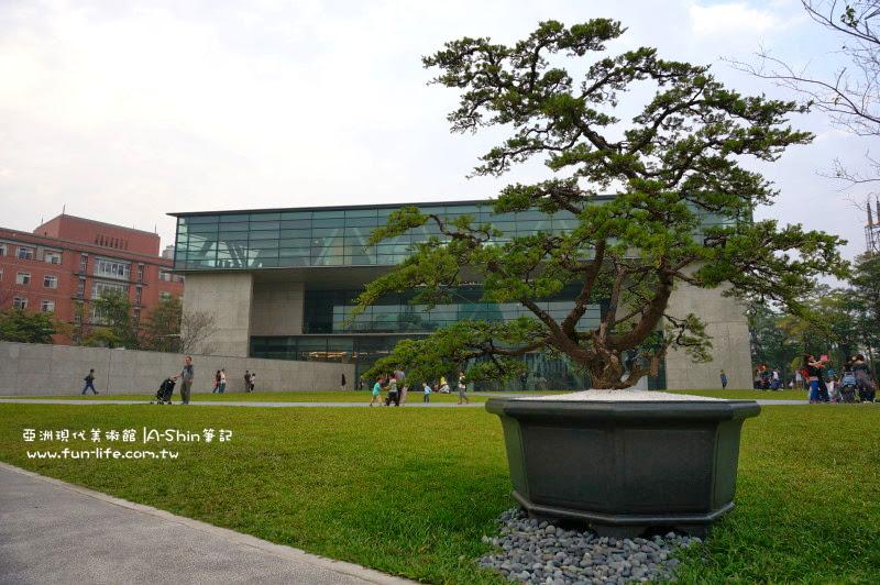 亞洲現代美術館很好拍照