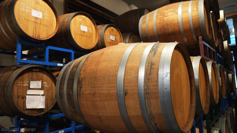 Wine Barrels Brooklyn Winery