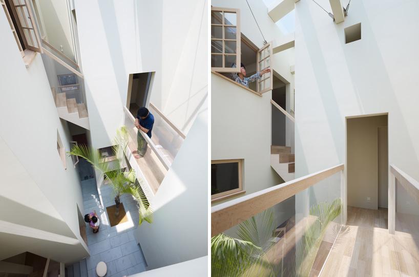 *建築師 Fujiwarramuro 居家住宅室內的戶外空間:日本 goido 中央庭園! 3