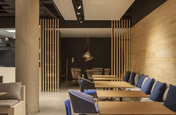 Decoración de un restaurante de inspiración birmana