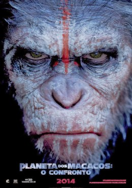 Planeta dos Macacos - O Confronto R5 Dublado – Torrent XviD AVI (2014)