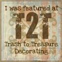 Trash to Treasure Decorating