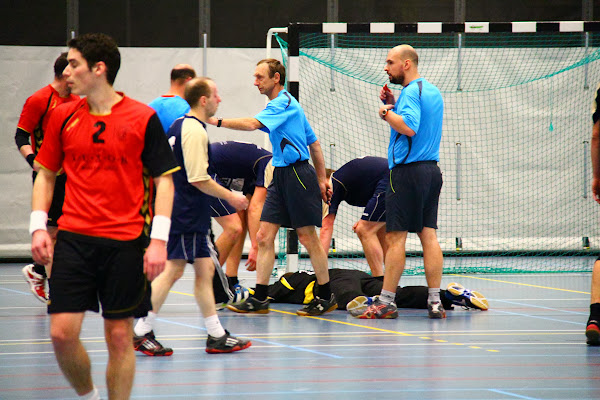 Knack Handbal Roeselare vs HC Eeklo