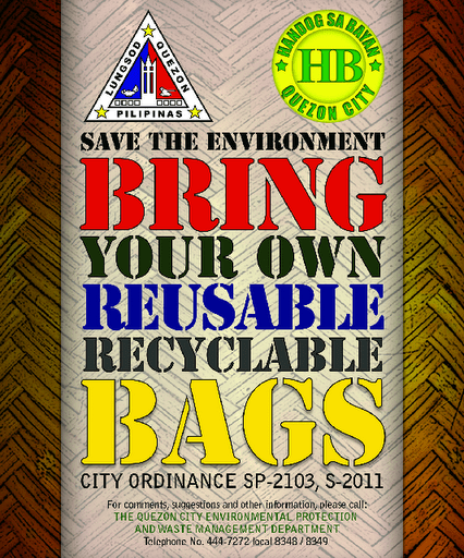 QC Plastic bag reduction ordinance