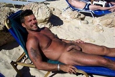 Nude Ricky penis martin