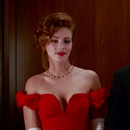 10 batons vermelhos do cinema Uma Linda Mulher