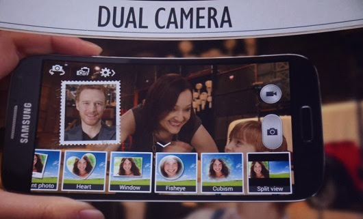 Samsung Galaxy S4 dual shot