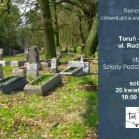 Dalsza renowacja cmentarza ewangelickiego w Toruniu-Rudaku, ul. Rudacka 27
