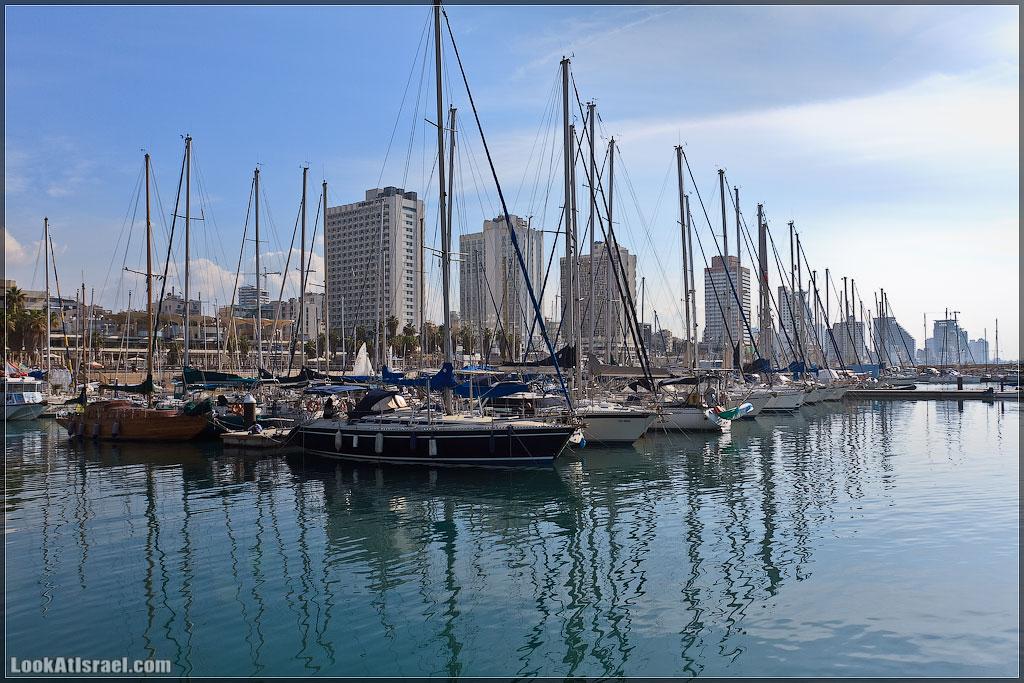 Тель Авивский яхт-клуб   Tel Aviv marina   מרינה תל אביב