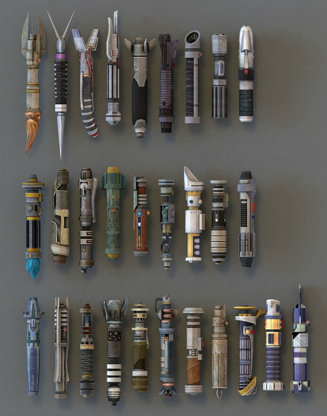 Lightsaber collection