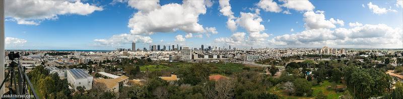 Самый широкий вид на Тель Авив