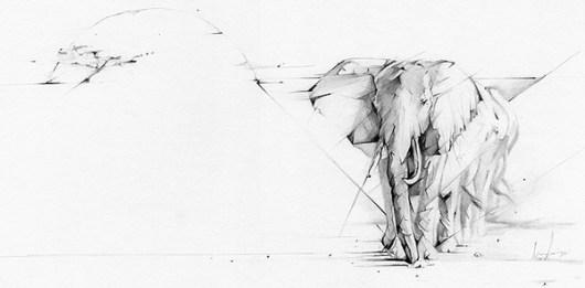 Elefante elemento terra