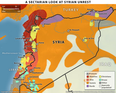 A sectarian view of Syria