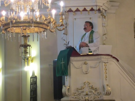 LCMS President Matthew Harrison Delivers Sermon in Prague