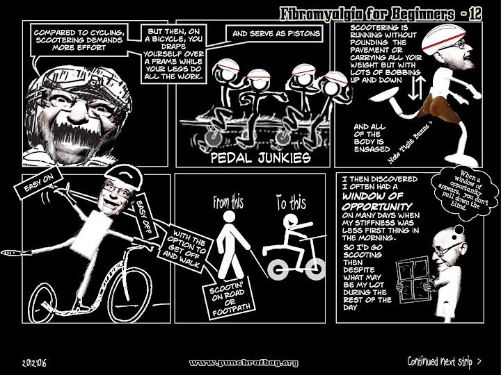 Page from 'Fybromyalgia' webcomic