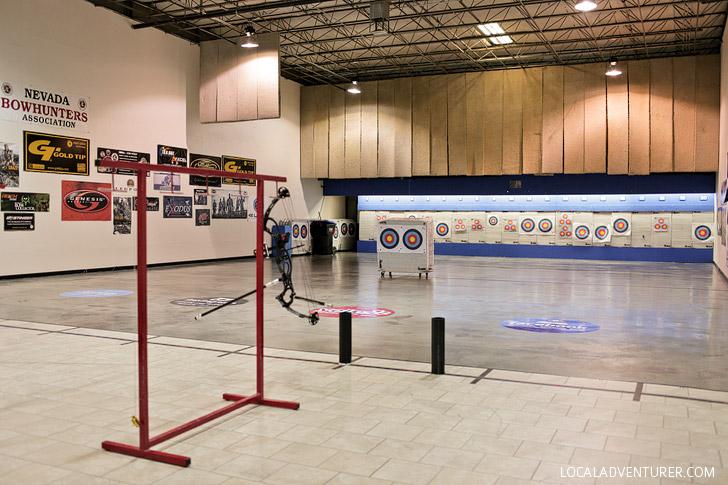 Impact Archery Las Vegas.
