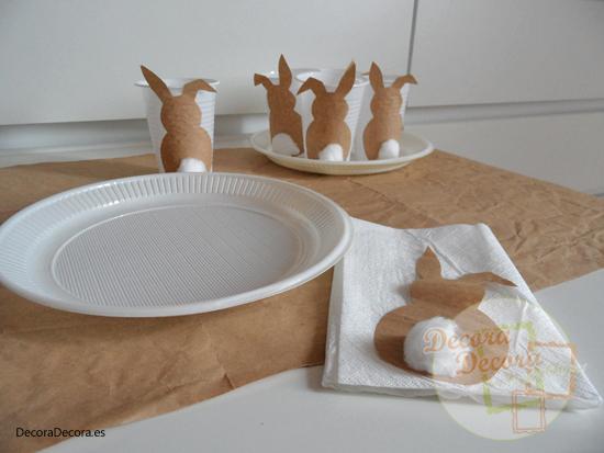 Idea para decorar en Pascua.