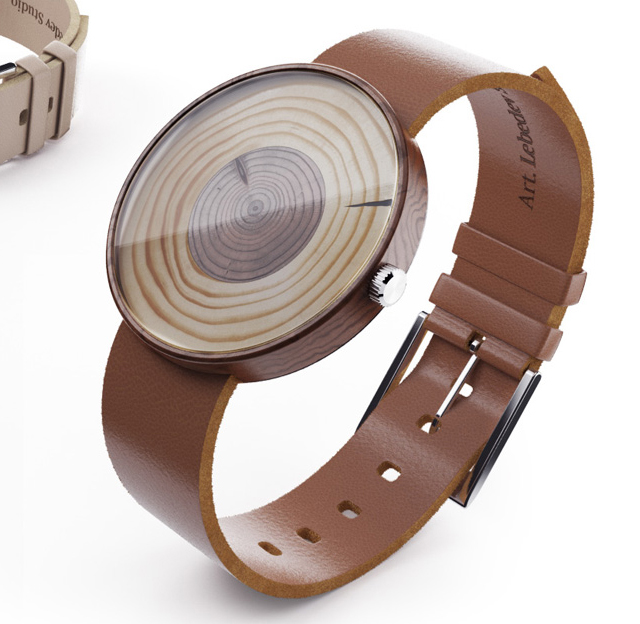 *Stubus年輪腕錶:來自莫斯科Studio Lebedev設計工作室! 1