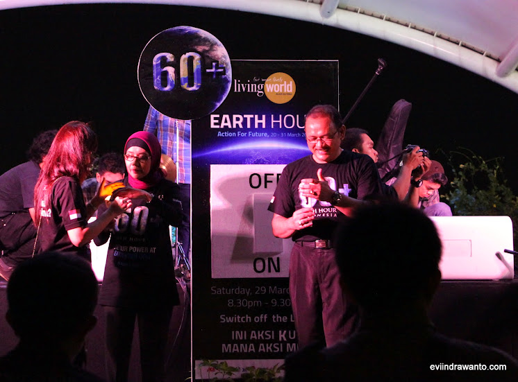earth hour living world alam sutera