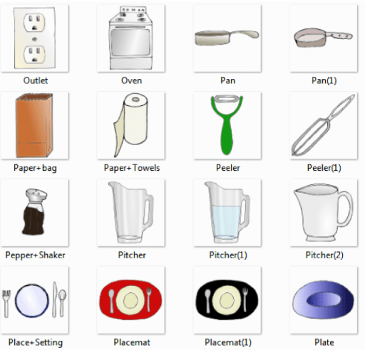 Kitchen Pictures and List of Kitchen Utensils with Picture and Names ...